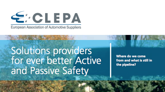 solutions providers for ever better active and passive safety