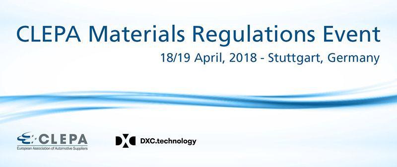 Materials Regulatuions Event